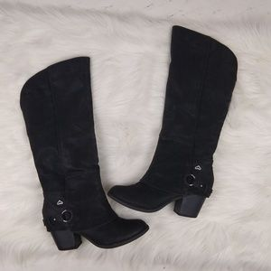 Fergalicious Lexy Knee High Western Boots